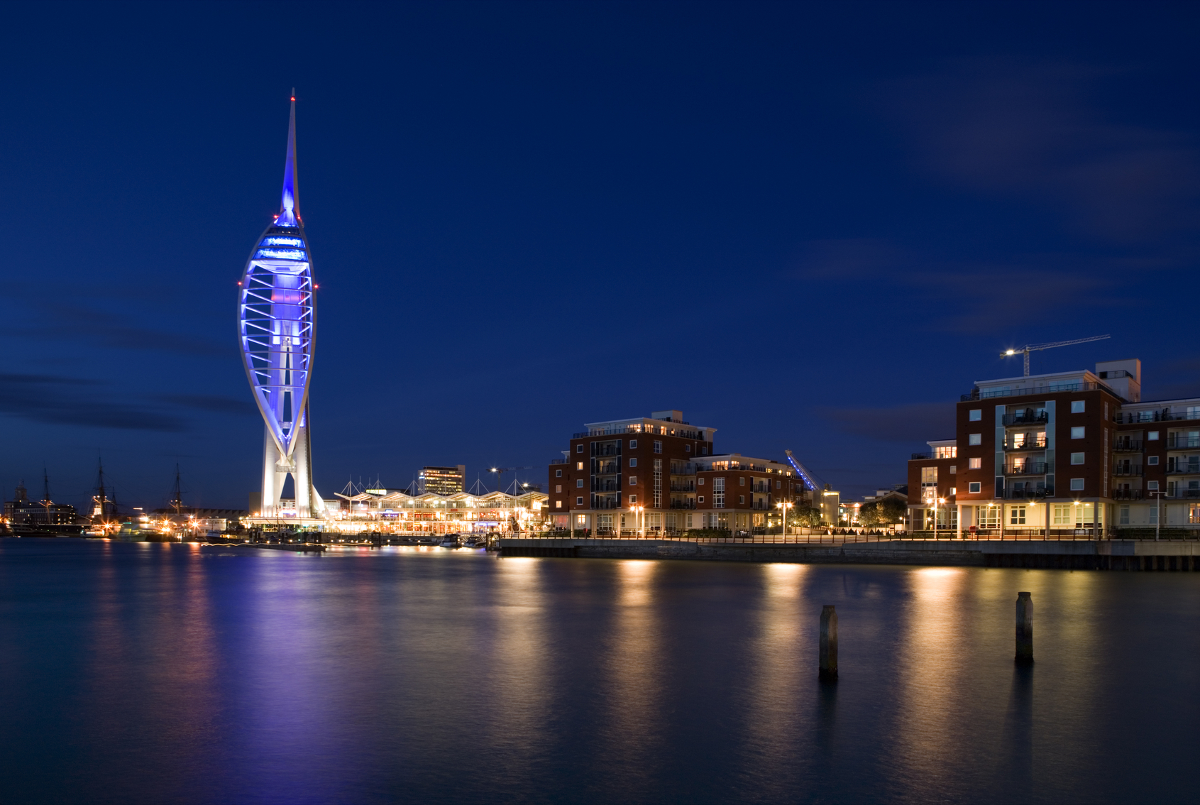 Spinakker Tower, Gunwharf Quays, Portsmouth